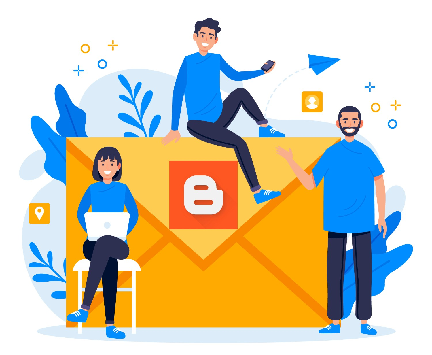 how add contact form in blogger