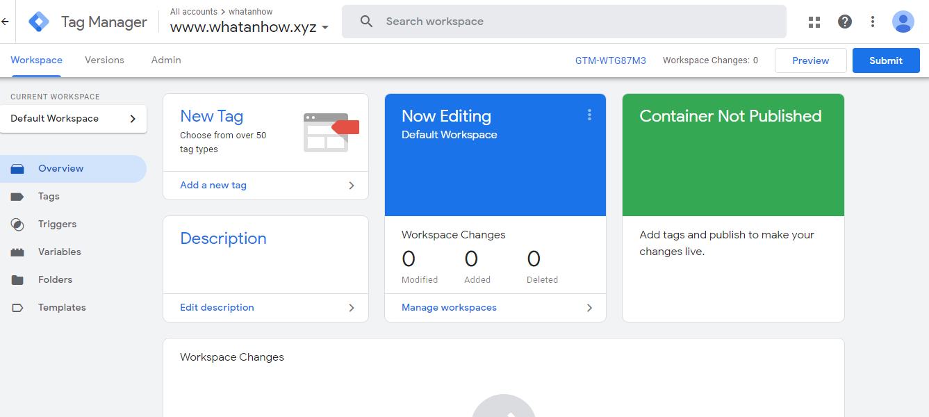 how to add google tag manager to blogger.
