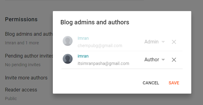 how to add new user to blogger