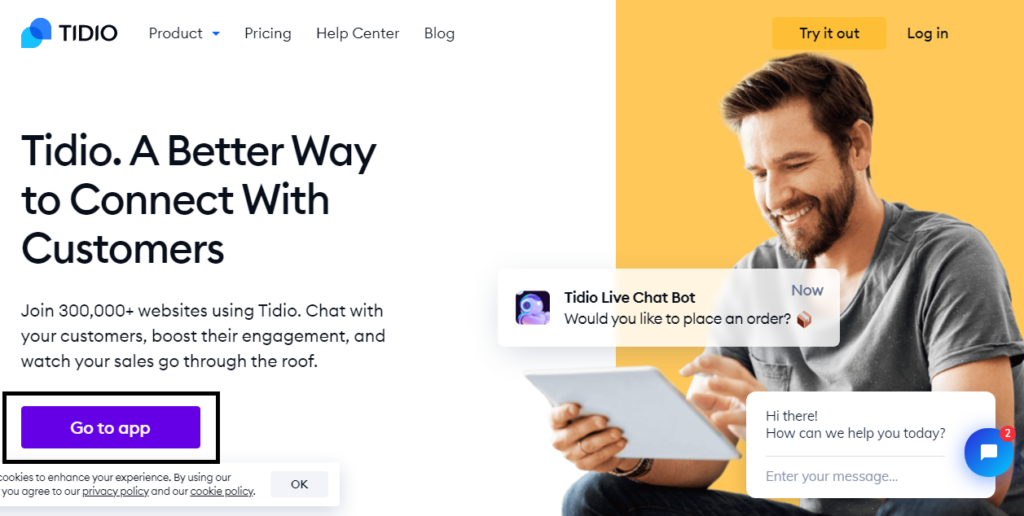how to enable tidio on blogger.