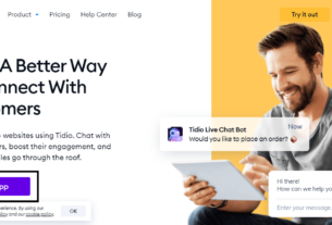 how add tidio chatbot in blogger
